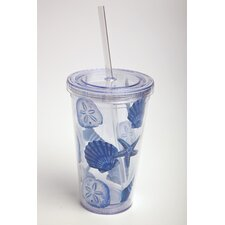 Coastal Shells Insulated Cup
