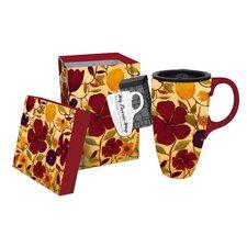 Floral Spice Latte Travel Mug
