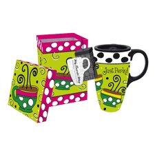 Whimsy Coffee Travel Mug
