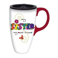 My Sister Latte Travel Mug