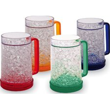 Double Wall Gel Freezer Mug (Set of 4)