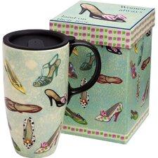 Shoes Latte Travel Mug