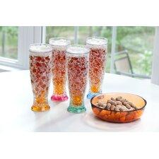 Gel Freezer Pilsner Glass (Set of 4)