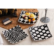 Mix and Match Ceramic Square Appetizer Plate (Set of 6)