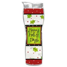 Happy Holly Days Insulated Cup