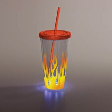 Flames LED Insulated Cup