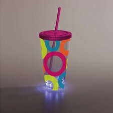 Bright Circles LED Insulated Cup