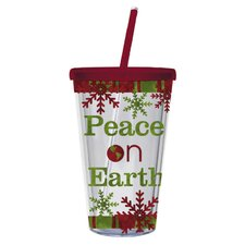 Peace On Earth Insulated Cup