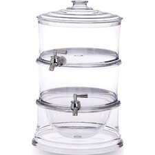 <strong>Cypress Home</strong> Acrylic 3 Piece Stackable Beverage Dispenser