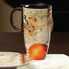 <strong>Cypress Home</strong> Autumn Inspirations Latte Travel Mug