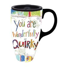 Wonderfully Quirky Latte Travel Mug