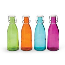 32oz Recycled Glass Bottle (Set of 4)