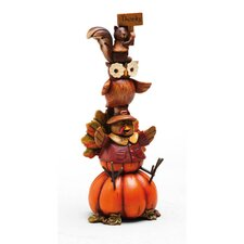 Autumn Inspiration Turkey Polystone Table Decor