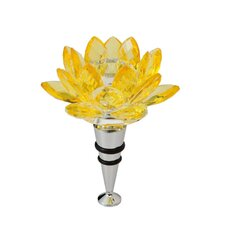 Lotus Candle Holder Wine Stopper