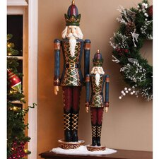 Nutcracker Polystone Table Decor