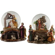 Christmas Nativity Musical Waterglove (Set of 2)