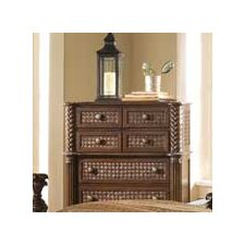 <strong>Progressive Furniture Inc.</strong> Palm Court II 7 Drawer Chest