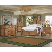 Palm Court Low Poster Bedroom Collection