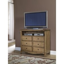 Aberdeen 6 Drawer Media Chest