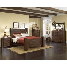 <strong>Progressive Furniture Inc.</strong> Trestlewood Poster Bedroom Collection