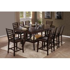 <strong>Progressive Furniture Inc.</strong> Bobbie 9 Piece Counter Height Dining Set