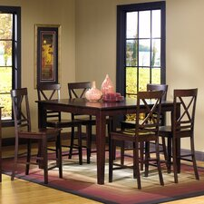 <strong>Progressive Furniture Inc.</strong> Winston 7 Piece Counter Height Dining Set