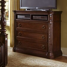 <strong>Progressive Furniture Inc.</strong> Marlestone 3 Drawer Media Chest