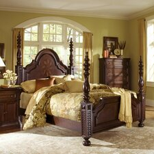 <strong>Progressive Furniture Inc.</strong> Marlestone Poster Bed