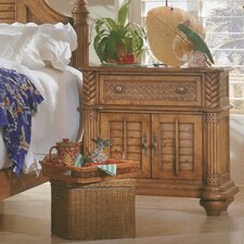 Palm Court 1 Drawer Nightstand