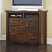 Trestlewood 4 Drawer Media Chest