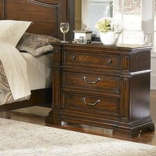 <strong>Progressive Furniture Inc.</strong> Regency 3 Drawer Nightstand