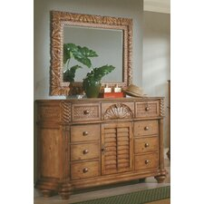 Palm Court 8 Drawer Dresser