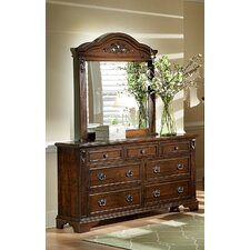 <strong>Progressive Furniture Inc.</strong> Sheraton 7 Drawer Dresser