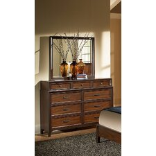 <strong>Progressive Furniture Inc.</strong> Solara 9 Drawer Dresser