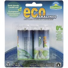 Alkaline C Cell Battery (Set of 2)