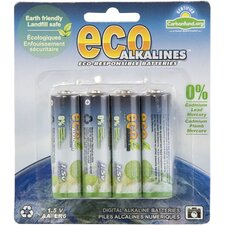Alkaline AA Battery (Set of 8)