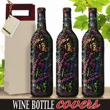 Celebration Wine Bottle Cover (Set of 3)