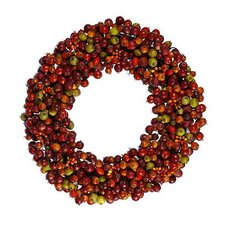 Fall Rosehip Wreath