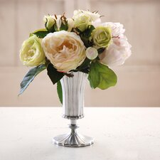 Rose and Peony Vase