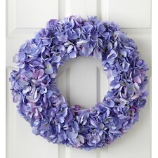 <strong>Jane Seymour Botanicals</strong> Dried Hydrangea Wreath