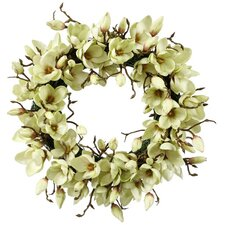 Tulip Magnolia Wreath