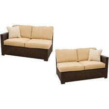 Metropolitan 2 Piece Loveseat Set