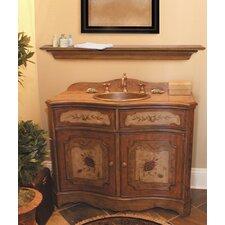 "48"" Homestead Fireplace Mantel Shelf"