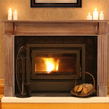 The Alamo Fireplace Mantel Surround