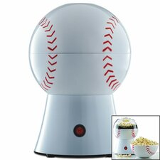 Hot Air Baseball Popcorn Popper