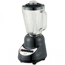 <strong>Brentwood Appliances</strong> 10-Speed Blender with Glass Jar