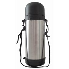 1.26-qt. Vacuum Bottle with Shoulder Strap