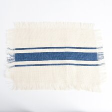 Les Baux de Provence Striped Design Jute Placemat