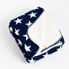 Star Design Sherpa Throw