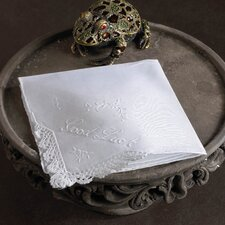 """""""Good Luck"""" Handkerchief (Set of 12)"""